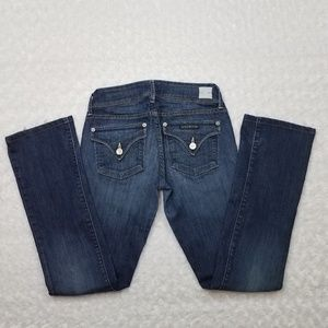 Hudson Jeans Jeans - HUDSON Beth Baby Boot Blue Jeans Size 24